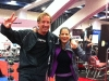 Kim Truman at IHRSA with John Cole