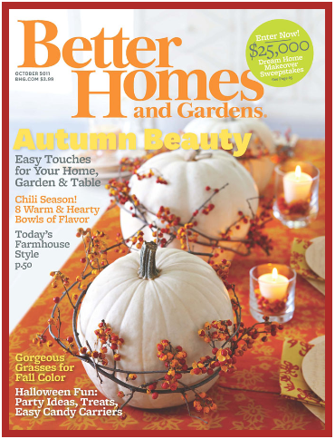Kim truman in better homes and garden 2011 issue kim Better homes and gardens current issue