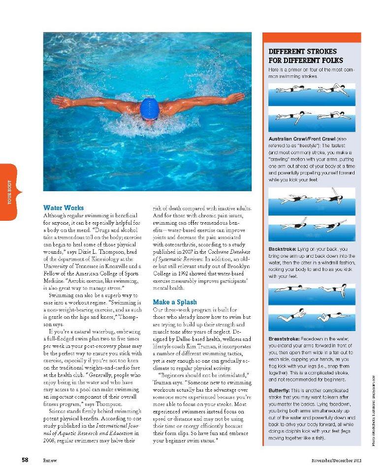 Renew Magazine Page 58 with Kim Truman