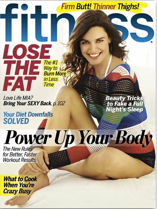Fitness Magazine February 2012 Issue with Kim Truman