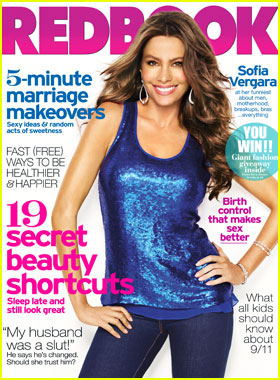 Redbook September 2011 Cover with Kim Truman