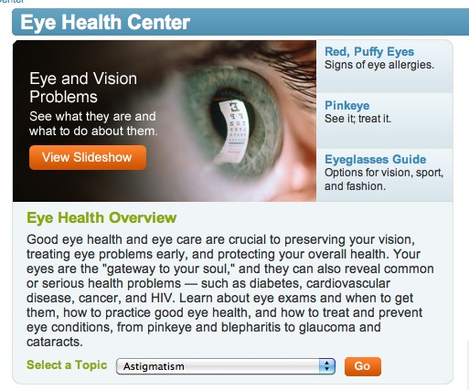 Dating your eye doctor